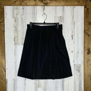 Lela Rose Skirts - Lela Rose womens A-line pleated front black size 4